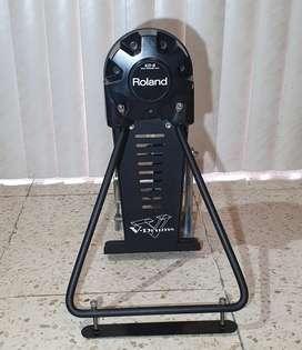Último precio $180 en Guayaquil Pedal electrico roland kick drum bombo pad batería (incluye pedal Pearl)