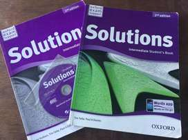 Libro de Ingles Solutions Intermediate