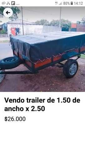 Vendo trailer muy bueno