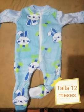Pijamas enterizas Termicas de niñ@s