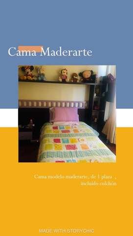 Dormitorio Maderarte en venta