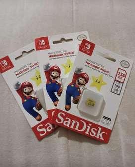 MicroaSD Nintendo switch 256 GB