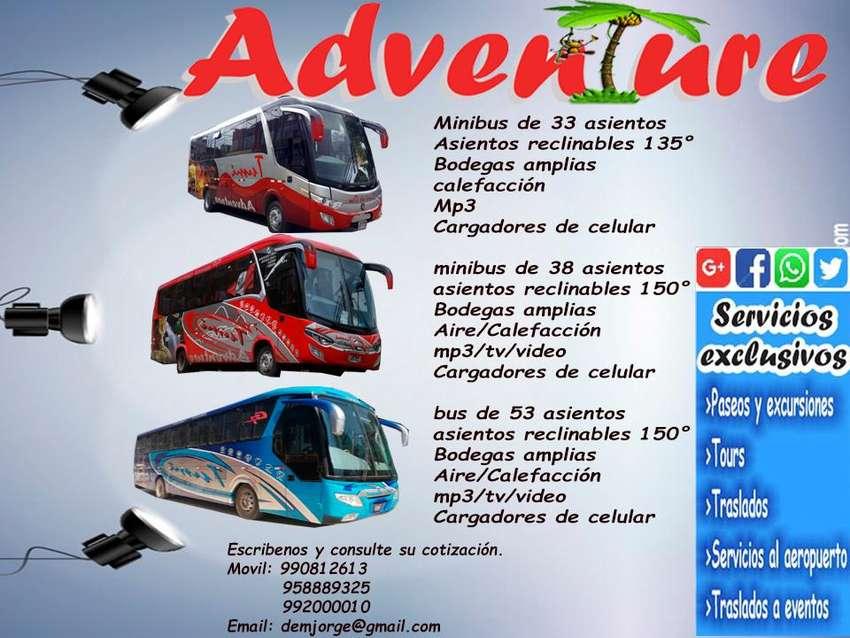 HUANCAYO alquiler de bus turistico buses minibus coaster para paseos viajes traslados y excursiones 0