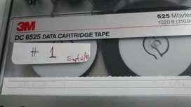 2 Casetees 3m Dc6525 Data Tape