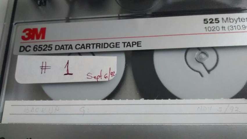 2 Casetees 3m Dc6525 Data Tape 0