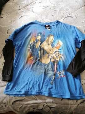 Camiseta de lucha libre talla 14buen estado