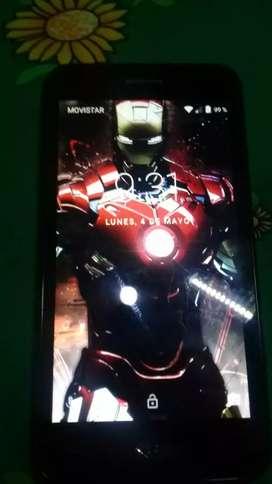 Vdo LG K4 2017 pantalla marcada no afecta su funcionamiento