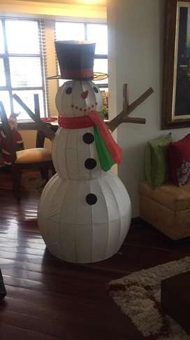 lindo muñeco de nieve
