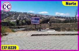CxC Venta Terreno, Lirios de Carcelen, Norte de Quito, Exp. 8239