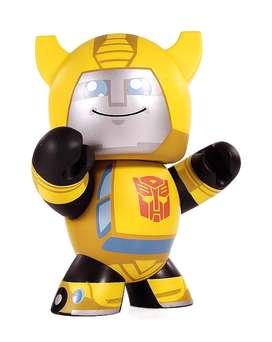 Mighty Muggs Transformers, cómic