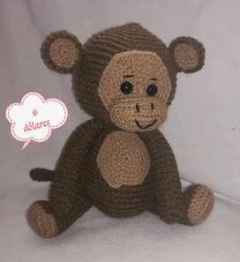 Monos amigurumi
