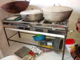 Vendo juego de cocina para restaurante chino