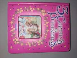 """Libro """"3 cuentos de princesas"""" editorial Susaeta"""