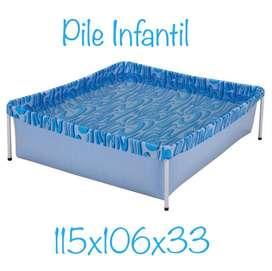 PILETA LONA INFANTIL 400 LTS