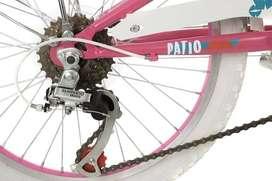 Bicicleta Mountain Bike Philco 20 Cuadro Acero Nena 6 Veloc