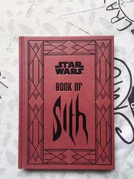 Libro de los Sith Star Wars en Ingles