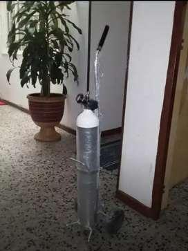 Cilindro Oxigeno Medicinal Portatil