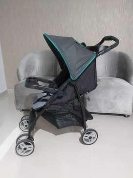 Coche para bebés con silla