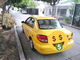 Taxi kia rio.