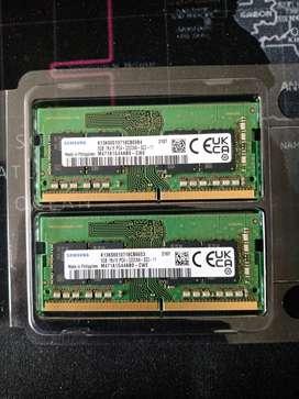 MEMORIA RAM 16GB SAMSUNG 2 x 8GB -2 MESES DE USO
