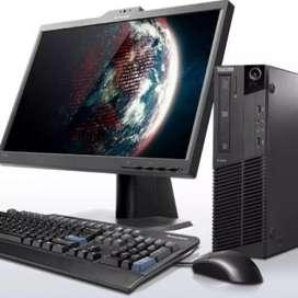 Oferta lenovo core i3 con 4 gb ram ddr3 disco 500 monitor 19 teclado mauso Garantía