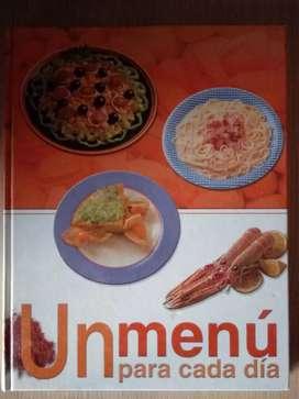 Libros de recetas - Un menú para cada día