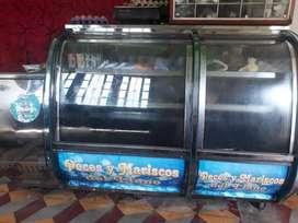 Infriador congelador panorámico