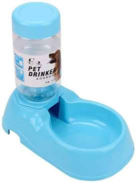 Dispensador dosificador bebedero de agua automático para gato y perro