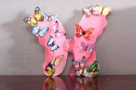 4 alas mariposas variado