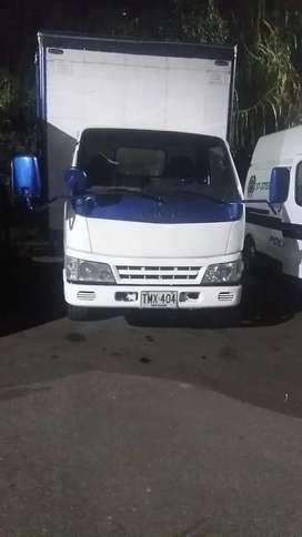 camión furgón jmc
