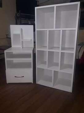 Vendo muebles de melanina nuevos