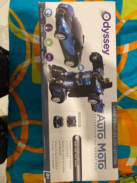 Vendo carro transformers a control remoto