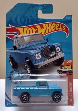 Hot Wheels Land Rover Series Iii Pickup