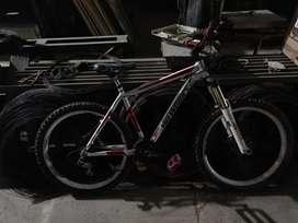 Bicicleta montañera rígida