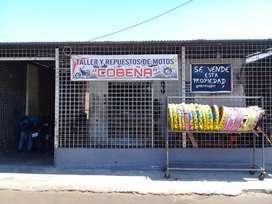 Se vende local con casa y negocio calle principal ciudadela montalban