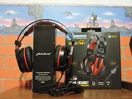 Auriculares gamer genius gx710v 7.1