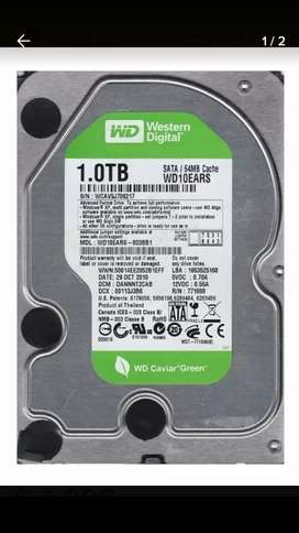 Disco Rigido Western Digital 1 Tb Green Hdd