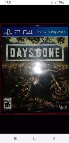 days Gone ps4- físico