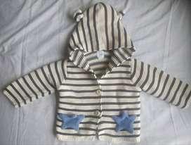 Saco/chaqueta GAP tejida para bebe 3-6 meses (usado en perfecto estado)
