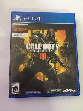 Call Of Duty: Black Ops 4 (como nuevo)