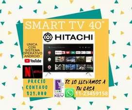 "Smart tv Hitachi 40 "" NUEVA EN CAJA"