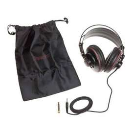 Audifonos MONITOR DJ alta fidelidad sonido real para trabajar en ESTUDIO DE SONIDO evolucion - 0555
