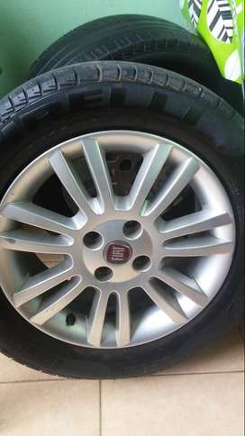 Llantas para Fiat Punto Attractive
