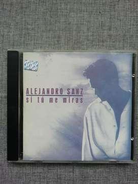 "Ca Alejandro Sanz ""si tú me miras"""