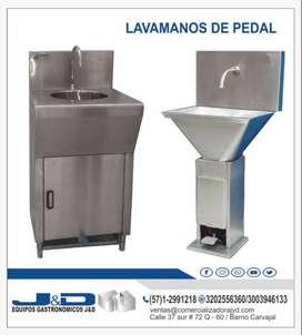 LAVAMANOS DE PEDAL
