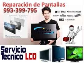 SERVICIO REPARCION DE PANTALLAS AZULES OSCURAS  SMART 4K 3D SAMSUNG SONY LG SHARP AOC  SURCO MIRAFLORES SAN BORJA