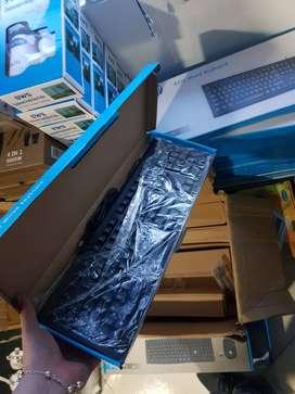 Teclado Alambrico HP k200 Para Computador 107 Teclas