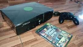 Xbox clásica muy hermosa lista para jugar