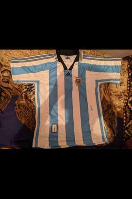 camiseta de argentina del 98