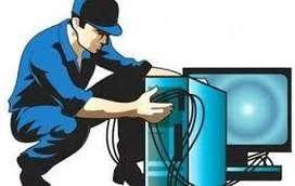 Técnico especializado en reparación de portátiles y computadores de mesa.